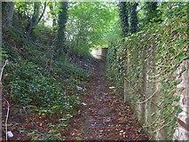 SE1323 : Footpath off Brookfoot Lane, Southowram by Humphrey Bolton