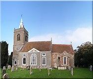TF6415 : All Saints' Church, North Runcton by Martin Pearman