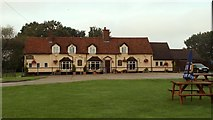 TL9011 : 'The Bell' inn at Tolleshunt Major, Essex by Robert Edwards