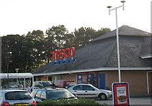 SH4862 : Tesco, Caernarfon by Eric Jones