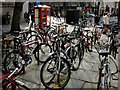 TQ3081 : Bicycles in Holborn by Stephen McKay