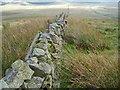 NS6282 : Stone wall on Holehead by Iain Macaulay