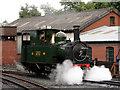 SJ1006 : Welshpool & Llanfair Railway, Llanfair Caereinion by John Lucas