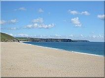 SW6424 : Loe Bar Beach by Tony Atkin