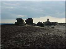 SK0787 : Trig point on Kinder Low by Phil Champion
