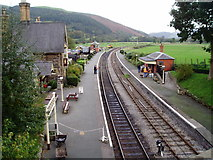 SJ1143 : Carrog Station by Eirian Evans