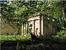 ST5295 : Ruins at Piercefield House by Clive Perrin