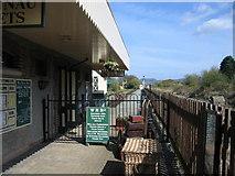 SH5639 : Welsh Highland Railway (Porthmadog) Station by David Stowell