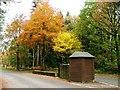 NZ0931 : Toll Booth, Hamsterley Forest by Mick Garratt