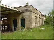 ST9897 : Kemble Railway Station Tetbury Branchline Bay by Paul Best