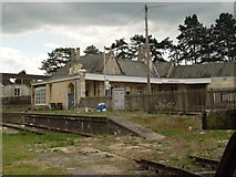 ST9897 : Kemble Railway Station Cirencester Branchline Bay by Paul Best