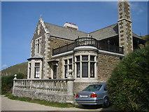 SW6424 : Bar Lodge, Loe Bar. by Geoff Welding