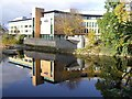H4572 : College Reflection, Omagh by Kenneth  Allen
