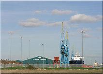 ST1973 : Queen Alexandra Dock, Cardiff by Tony Hodge