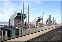 ST1972 : Sluices Control Gear - Cardiff Bay Barrage by Tony Hodge