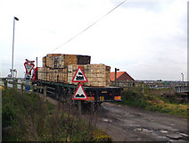 TA0623 : Barrow Haven Level Crossing by David Wright