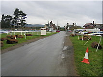 SO4877 : Two Level Crossings at Bromfield by David Stowell