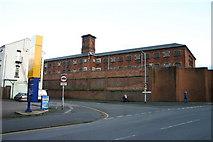 SJ9223 : Stafford Prison on Gaol Road by Stephen Pearce