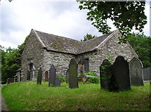 SH7956 : St Michael's church at  Betws-y-Coed by Andrea Hope