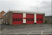 SU3521 : Romsey fire station by Kevin Hale