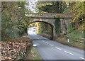 SJ4260 : Carriage road bridge near Aldford by John S Turner
