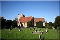 SK8354 : All Saints' church, Coddington by Richard Croft