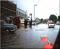 TQ3772 : Bromley Road - 1968 Flood by David Wright