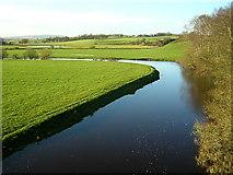 NS8838 : Douglas Water at Douglasmouth Bridge by Iain Thompson