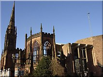 SP3379 : Ruins of Coventry Cathedral by Sue Adair