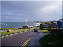 NU2424 : Low Newton by the Sea by C Smith
