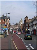 TQ2775 : St John's Hill down, Lavender Hill up. Clapham Junction SW11 by Mike Clarke