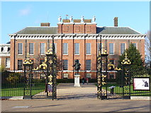 TQ2579 : Kensington Palace, the South Front by Colin Smith
