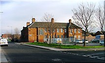 NZ5320 : South Bank Police Station, Middlesbrough Road by Mick Garratt