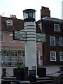 TL8564 : The Pillar of Salt Bury St.Edmunds by Keith Evans