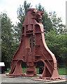 SO2409 : Steam Hammer, Blaenavon by Chris Allen