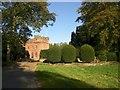 NY6228 : Approach to Newbiggin Hall by Humphrey Bolton