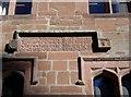 NY6228 : Inscription on Newbiggin Hall by Humphrey Bolton