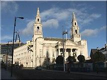 SE2934 : Leeds Civic Hall. by Steve Partridge