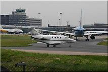 SJ8184 : Manchester International Airport by Alan Pennington