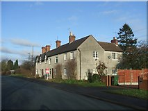 SO8791 : Woodcote Cottages by John M