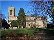 SK0418 : St. Augustine's Church, Rugeley by Geoff Pick