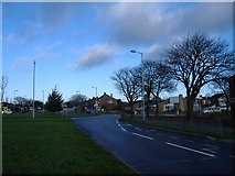 NZ3764 : The roundabout at Harton Nook. by Roger Cornfoot
