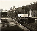 NZ3568 : Electric train at North Shields by Roger Cornfoot