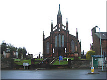 NX9776 : St Mary's Greyfriars Church, Dumfries by Bill Henderson