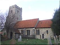 TQ9293 : St Peter's village church, Paglesham by Julieanne Savage