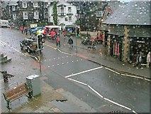 NY3704 : Wet Day in Ambleside by Mick Garratt