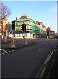 TQ2804 : A2023/B2066 Crossroads, Hove by Simon Carey