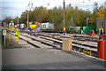 SP0073 : Track replacement at Barnt Green Station by Phil Champion
