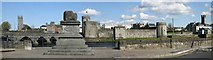 R5757 : Treaty Stone and King Johns Castle, Limerick by Mike Shinners