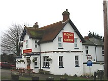 TR3051 : Plough and Harrow Public house. by Nick Smith